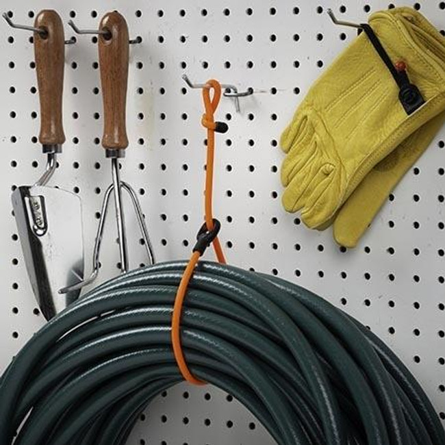 Nite Ize Gear Tie Loopable Twist Tie 24 in. Bright Orange securing hose