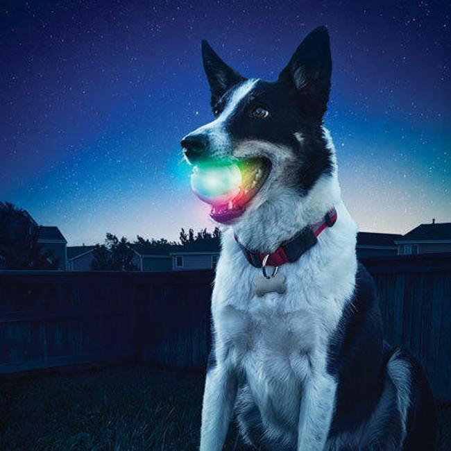 Nite Ize GlowStreak Disc-O LED Ball  Lifestyle