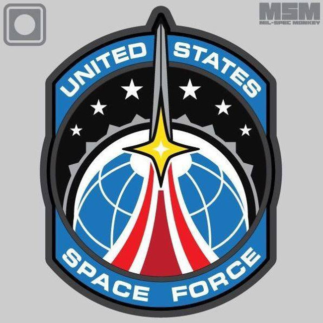 Mil-Spec Monkey Space Force PVC Patch SPACEFORCE