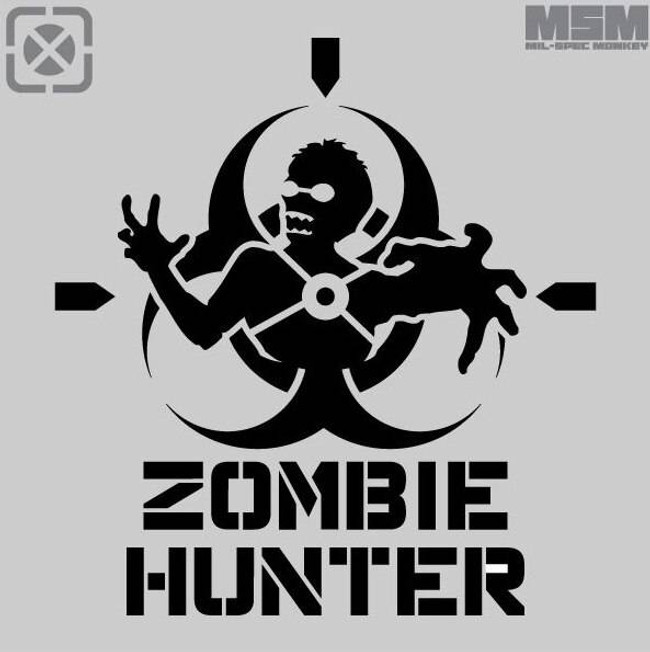 Mil-Spec Monkey Zombie Hunter Stencil STENCIL-ZOMBIEHUNTER