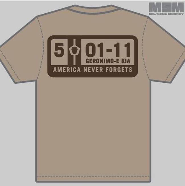 Mil-Spec Monkey 5-01-11 T-Shirt T-5-01-11