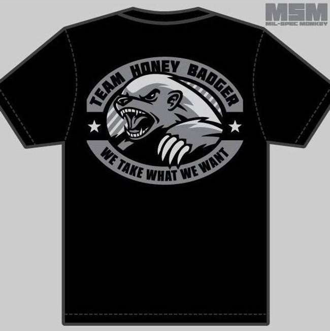 MIl-Spec Monkey Honey Badger T-Shirt T-BADGER
