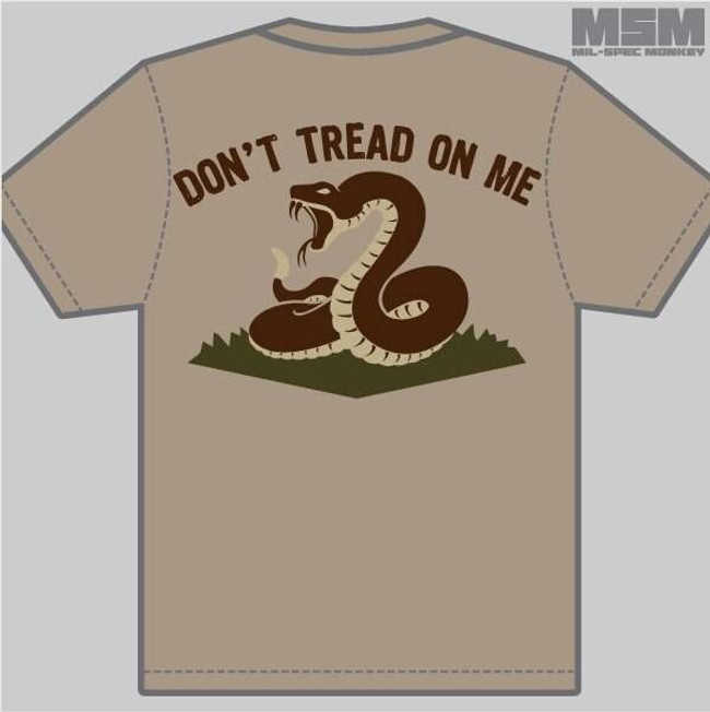 Mil-Spec Monkey Dont Tread T-Shirt T-DTOM