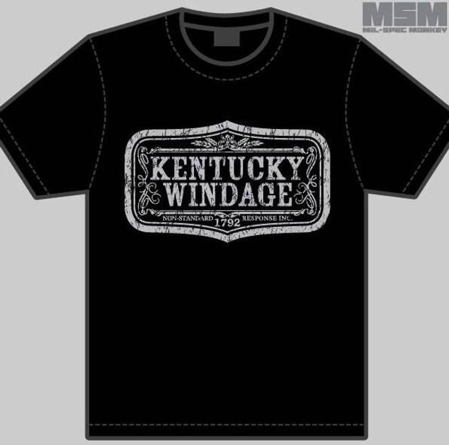 Mil-Spec Monkey Kentucky Windage T-Shirt T-KENTUCKY