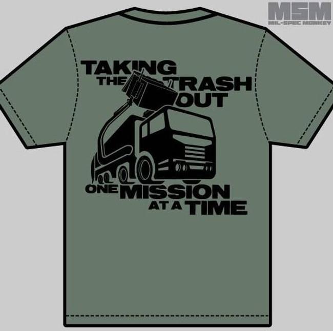 Mil-Spec Monkey MSM Waste Management T-Shirt WASTEMANAGEMENT