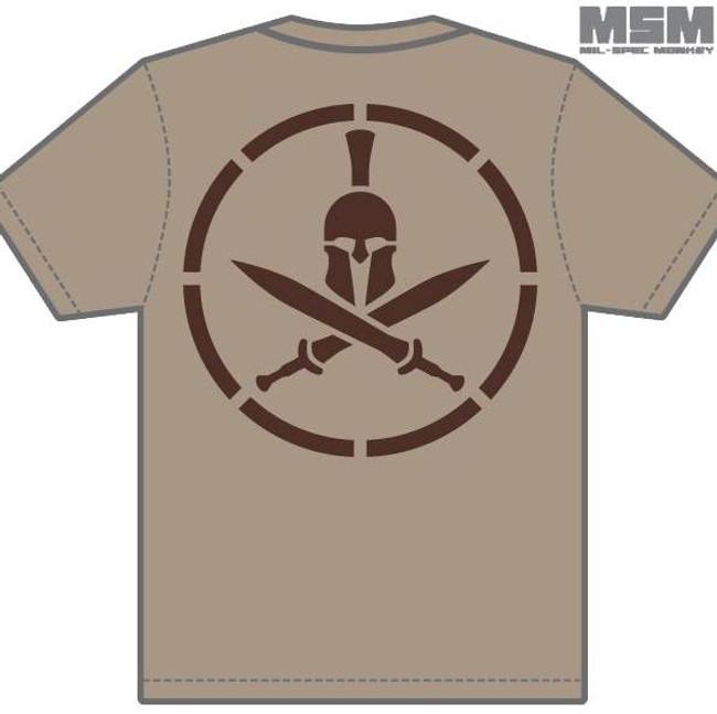 Mil-Spec Monkey Spartan T-Shirt T-SPARTAN