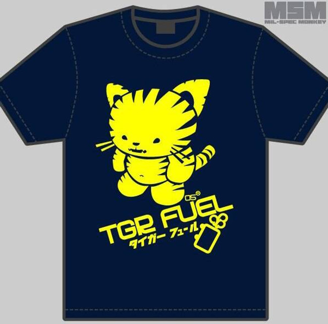 Mil-Spec Monkey Tiger Fuel Girl T-Shirt T-TIGERFUEL