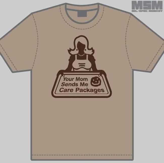 Mil-Spec Monkey Your Mom T-Shirt T-YOURMOM