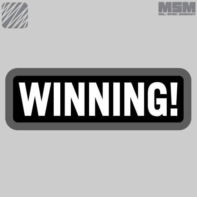 Mil-Spec Monkey Winning Patch WINNING