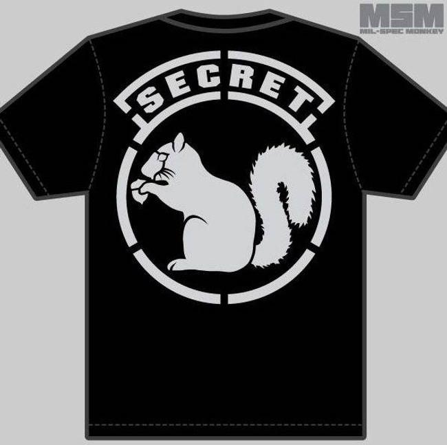 Mil-Spec Monkey Secret Squirrel Shirt T-SSQUIRREL