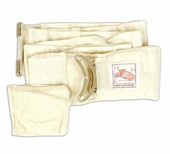 Israeli Medical Bandages 4 Emergency Bandage - Mobile Pad - White FCP-11 965233654475