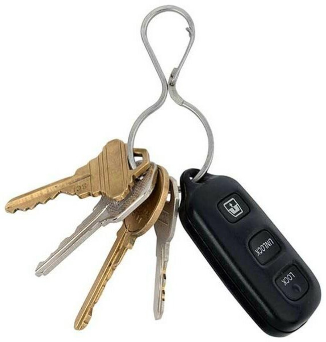 Nite Ize Infini-Key Stainless Key Chain feature
