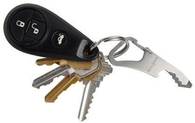 Nite Ize DoohicKey ClipKey Tool Stainless with Keys