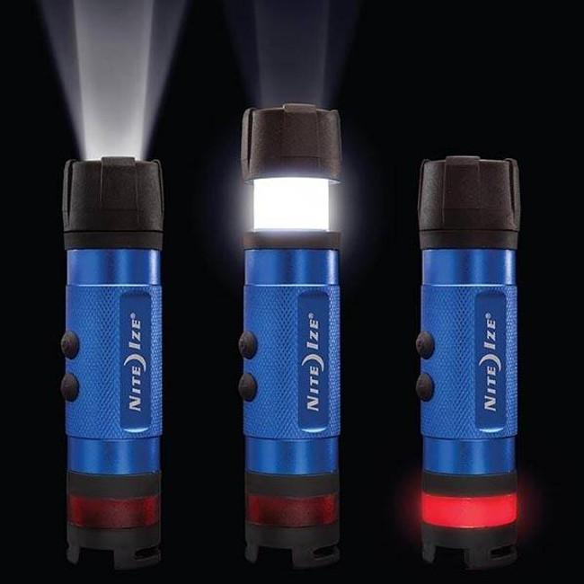 Nite Ize Radiant 3-in-1 LED Mini Flashlight Blue Variant Detail