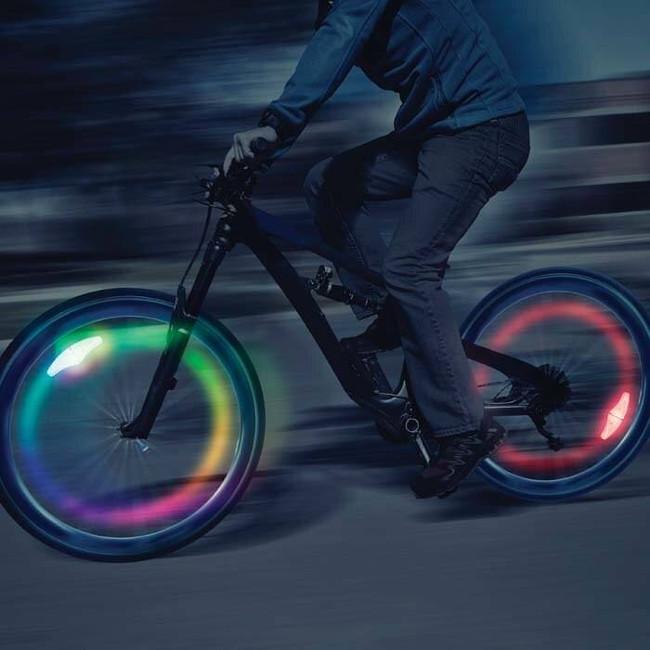 Nite Ize SpokeLit Wheel Light 2 Pack - Disc-O Select feature