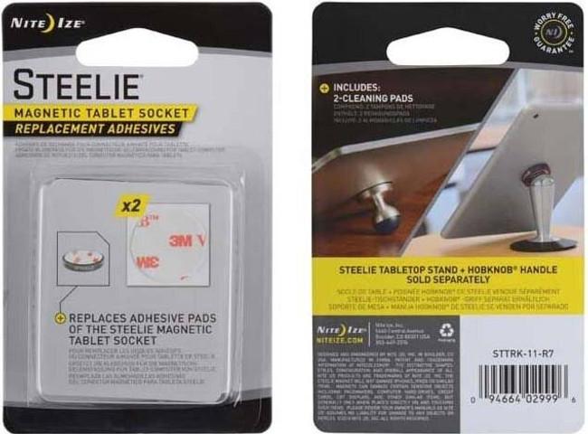 Nite Ize Steelie Magnetic Tablet Socket Replacement Adhesives STTRK-11-R7 094664029996