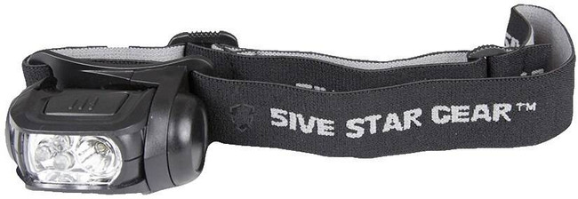 5ive Star Gear Multi-Function Headlamp