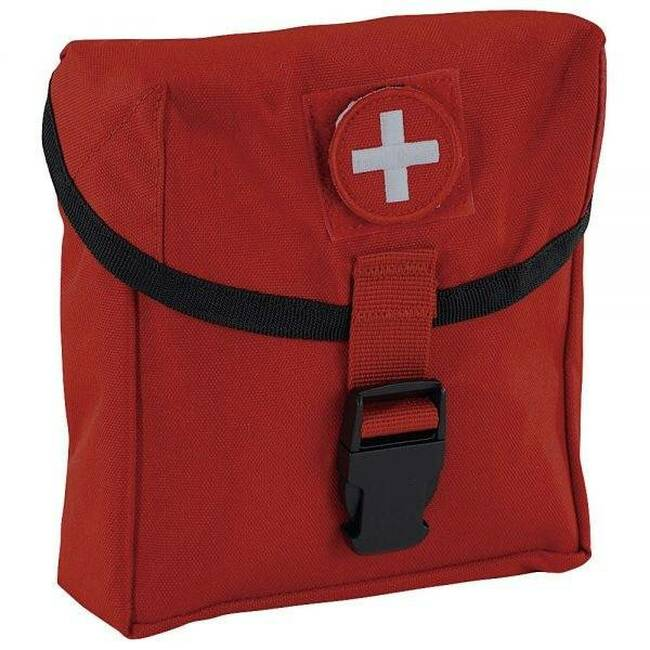Elite First Aid New Platoon First Aid Kit FA181 - Red - LA Police Gear