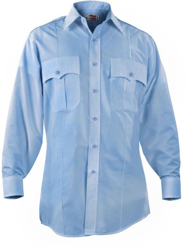 Elbeco Paragon Plus Poplin Mens Long Sleeve Shirt PARAGON-LS