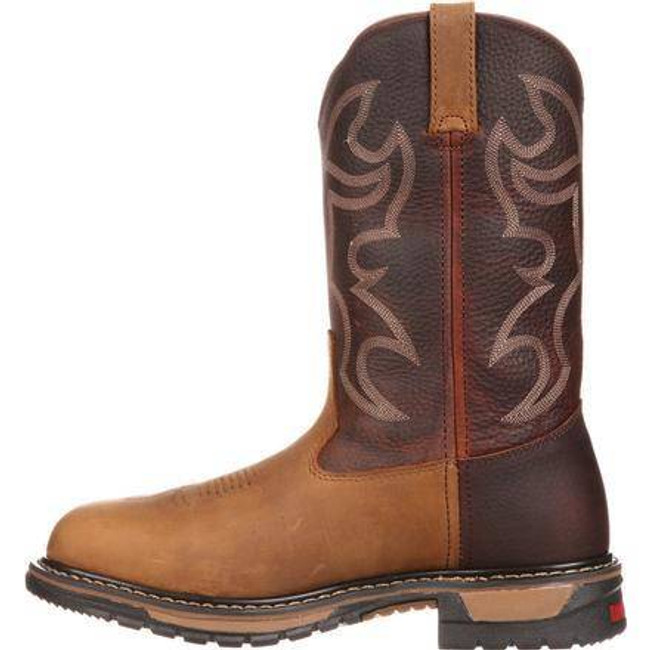 Rocky Branson Roper Protective Toe Western Boots 6732 6732
