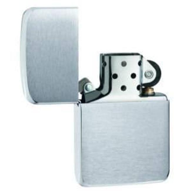 Zippo Brushed Chrome 1941 Replica Lighter 1941 041689110338