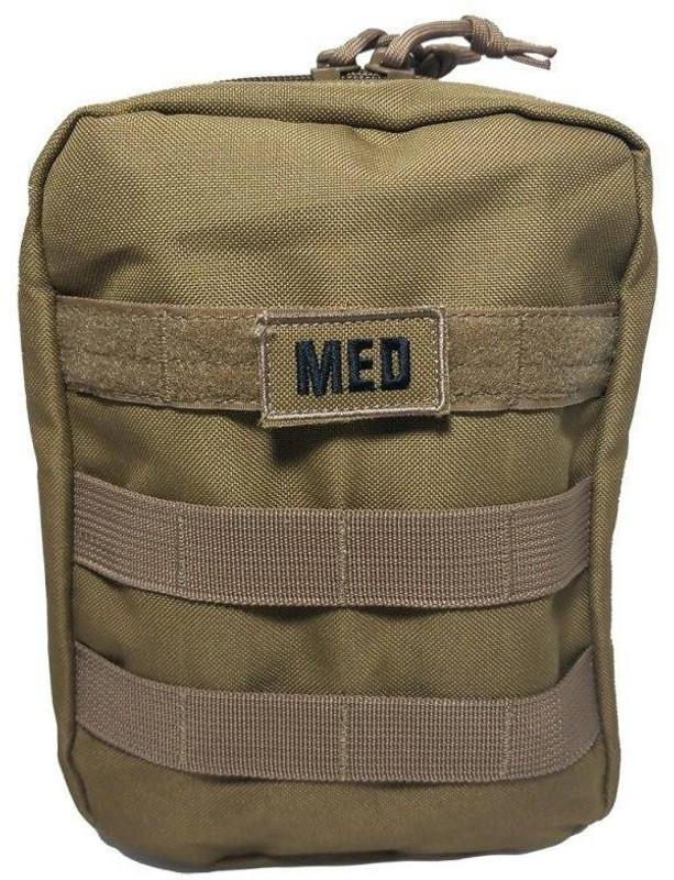 Elite First Aid, Inc Military IFAK FA187 - Tan - LA Police Gear