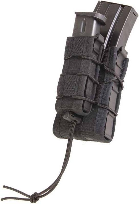 High Speed Gear Double Decker TACO Modular Single Rifle and Pistol Magazine Pouch DOUBLE-DECKER-TACO