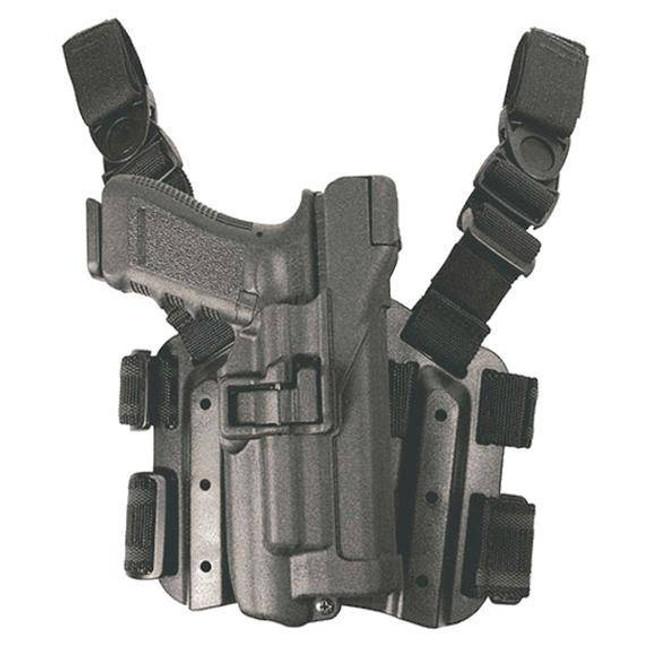 Blackhawk Level 3 SERPA Light Bearing Tactical Holster 4307-BP