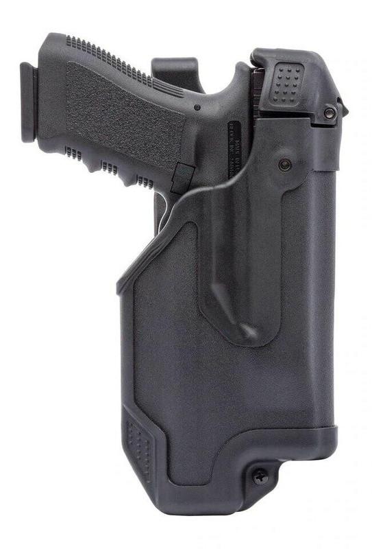 Blackhawk Epoch Level 3 Light Bearing Duty Holster Matte Black with glock