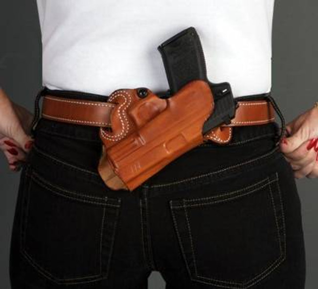 DeSantis Gunhide Small Of Back Leather Holster 067-DE