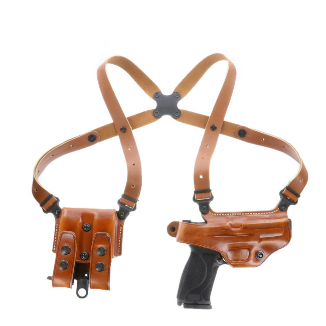 Galco Miami Classic Shoulder Holster System tan