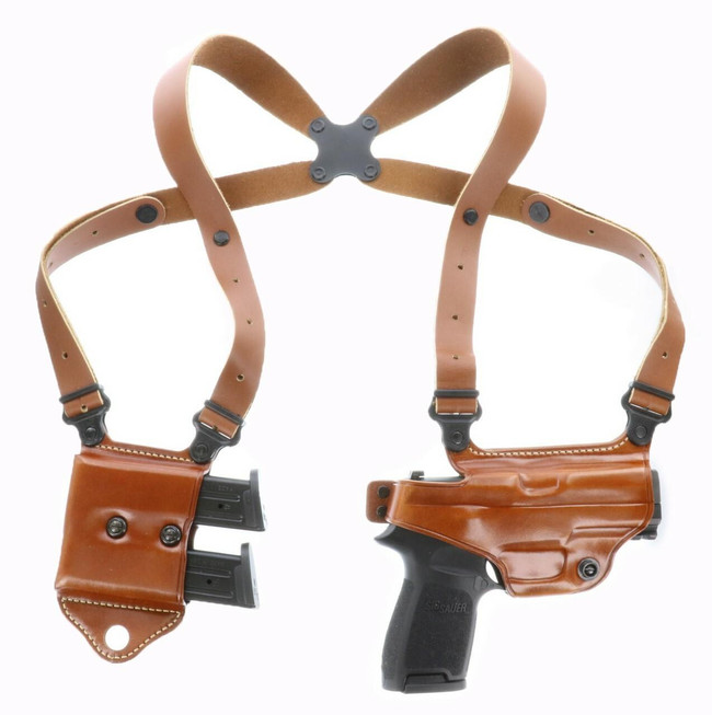 Galco Miami Classic II Shoulder Holster System tan