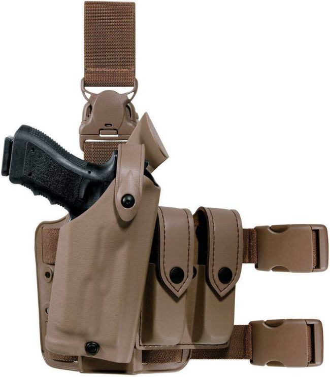 Safariland 6005 SLS Tactical Holster w/ Quick Release Leg Strap 6005-SL