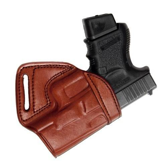 Tagua Gunleather Leather Middle Back Holster MBH