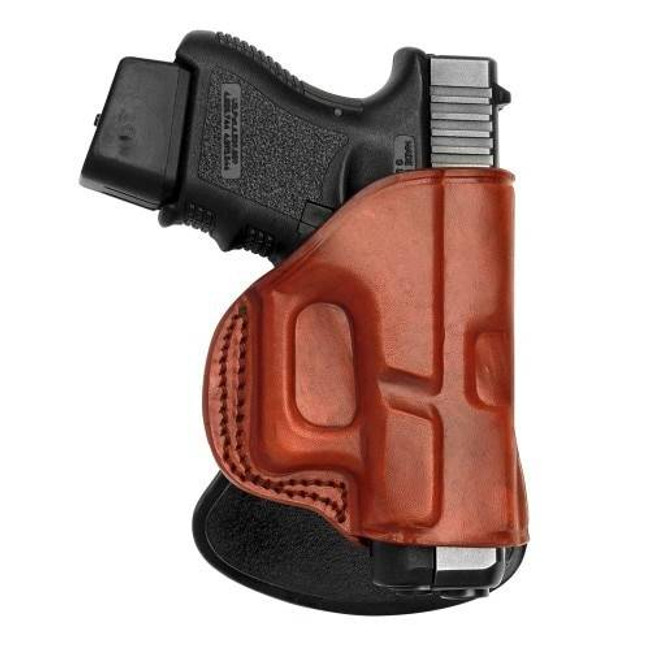 Tagua Gunleather Leather Paddle Holster Quick Draw PD2