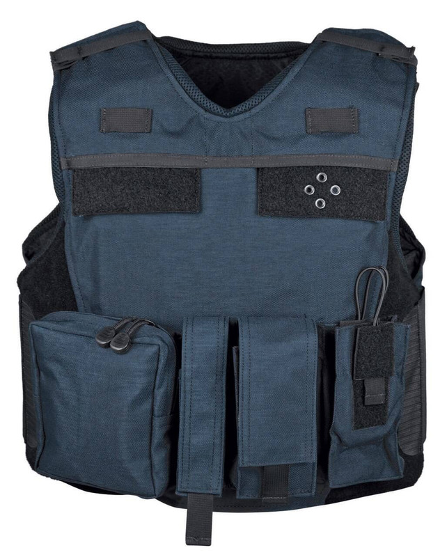 Second Chance Body Armor Tactical Assault Carrier TAC Fixed Pockets - Security Patch TAC-CARRIER-SEC