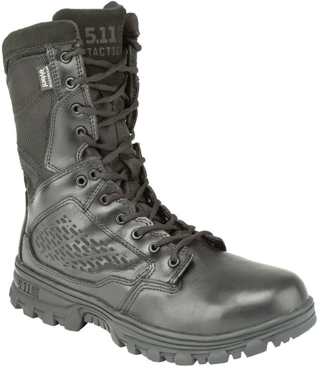 """5.11 Tactical EVO 8"""" Waterproof Side Zip Black Boot"""