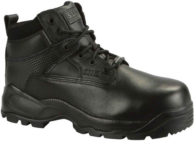 5.11 Tactical Mens ATAC 6 Shield Side Zip Black Boot 12019 12019