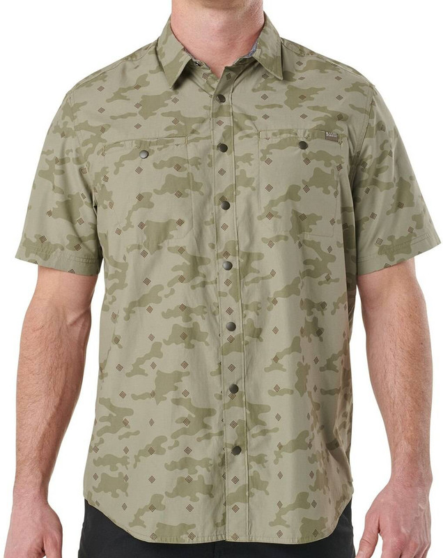 5.11 Tactical Crestline Camo Short Sleeve Shirt 71377