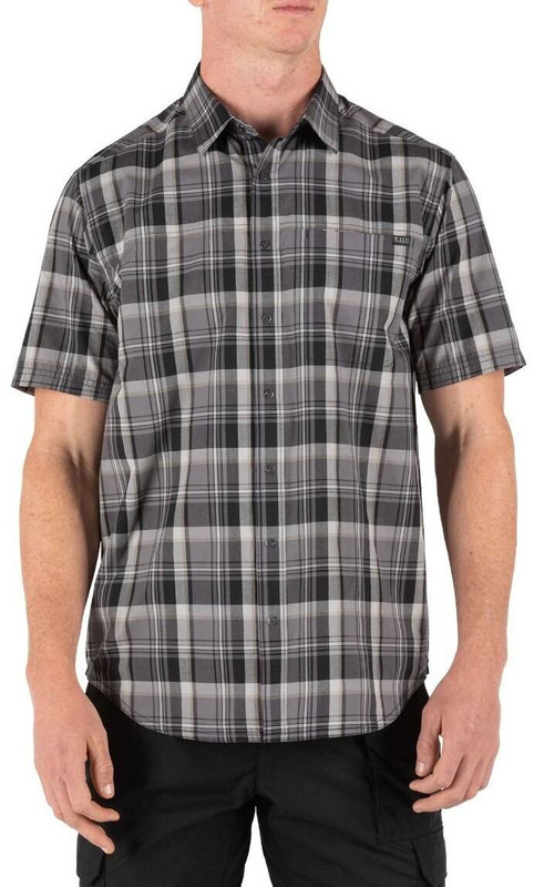 5.11 Tactical Hunter Plaid Short Sleeve Shirt 71374