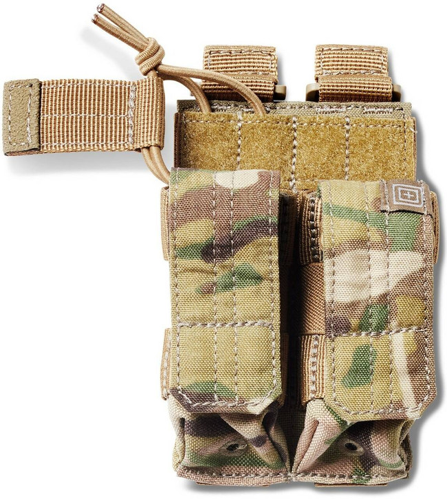 5.11 Tactical Multicam Double Pistol Bungee/Cover Pouch 56386 56386 888579149869