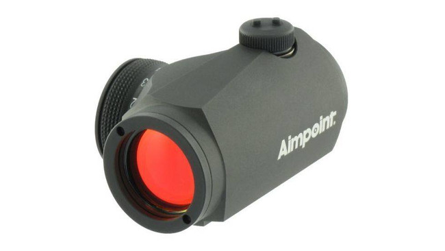 Aimpoint Micro H-1 2 MOA Red Dot Sight No Mount 200026