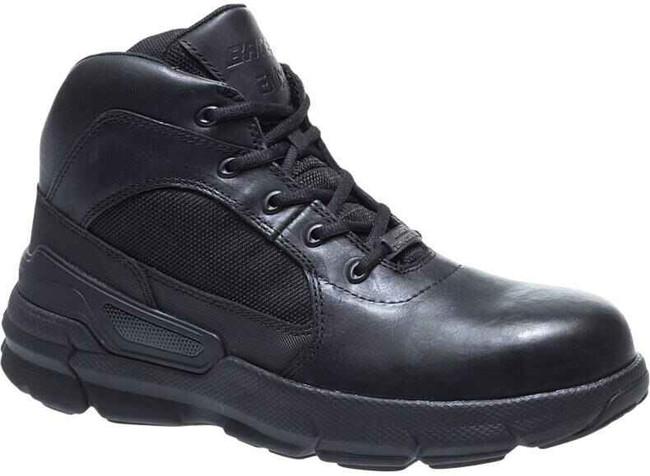 Bates Black Charge-6 Composite Toe Side Zip Boot E07166