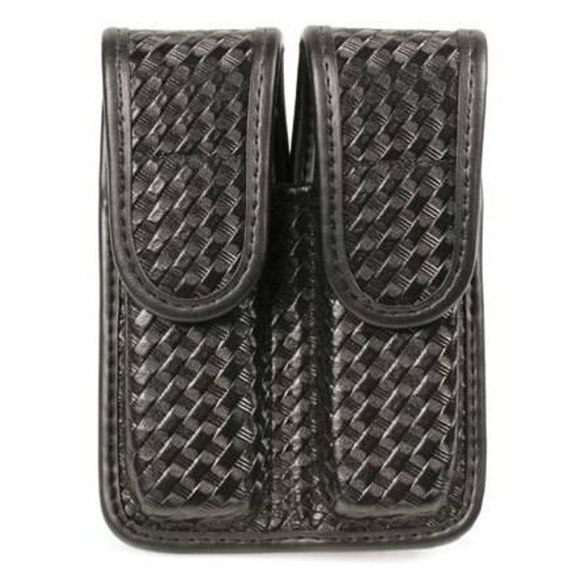Blackhawk Molded Basketweave Double Mag Pouch - Single Column LE-44A000BW 648018142222