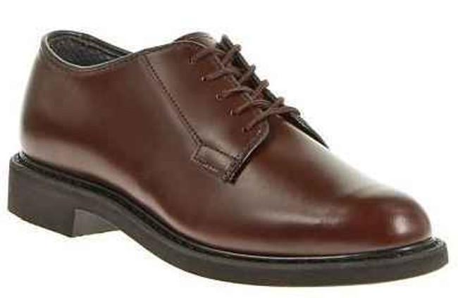 Bates Footwear Lites Brown Leather Mens Oxford E00082
