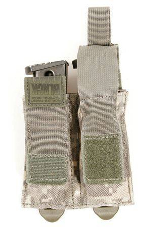 Blackhawk STRIKE Double Pistol Mag Pouch with Speed Clips 38CL10