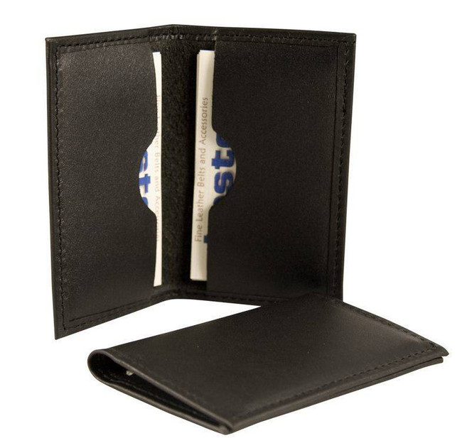 Boston Leather Business Card Holder with Soft Leather 1080S 192375035968 - Main - LA Police Gear