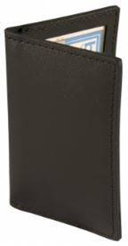 Boston Leather Credential Holder with 4 Windows 5822S
