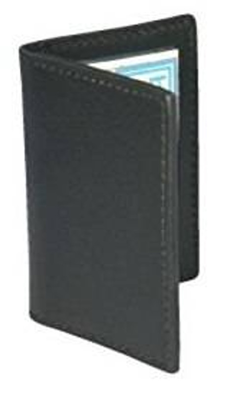 Boston Leather ID Case with Two Windows 5822S-1 192375128899