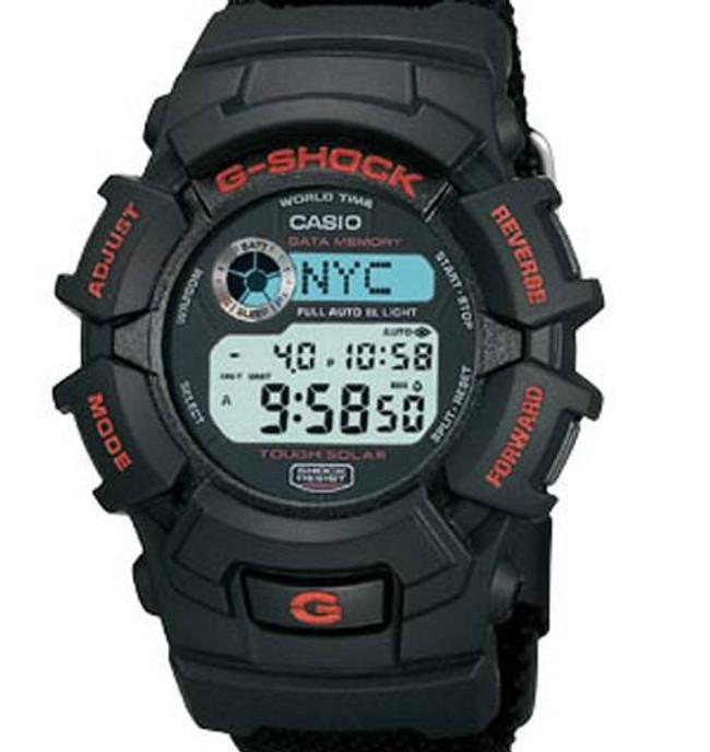 Casio Black G-Shock Tough Solar Watch G2300B-1 G2300B-1 079767792824